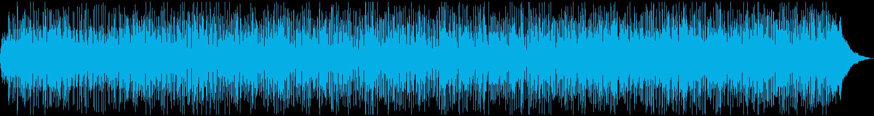 ゆったりストリングスのボサノバの再生済みの波形