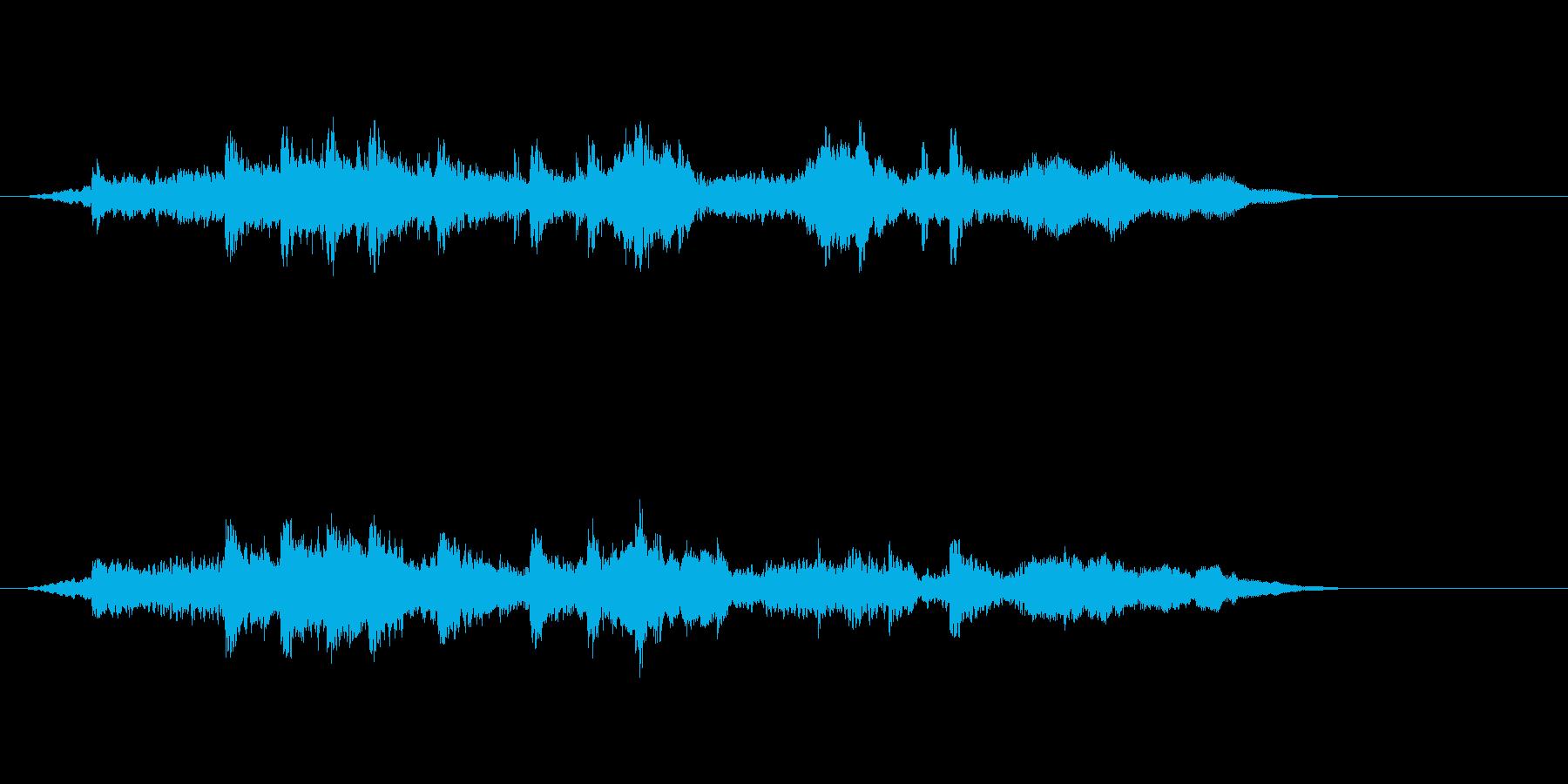 テーマ25:フルミックスの再生済みの波形