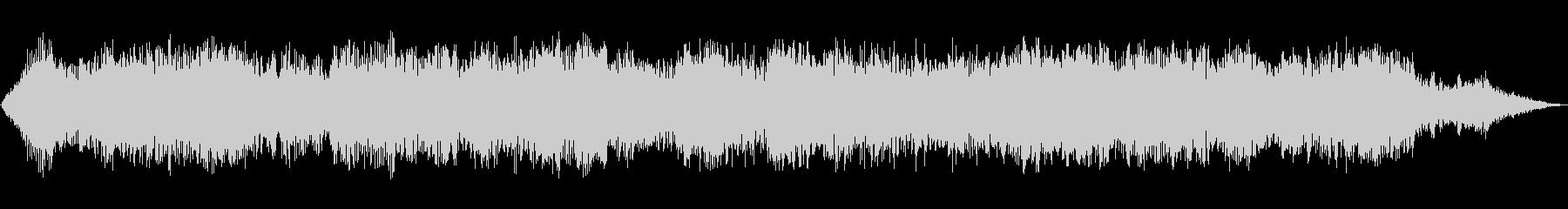 低音パッドのドローンとリングの未再生の波形