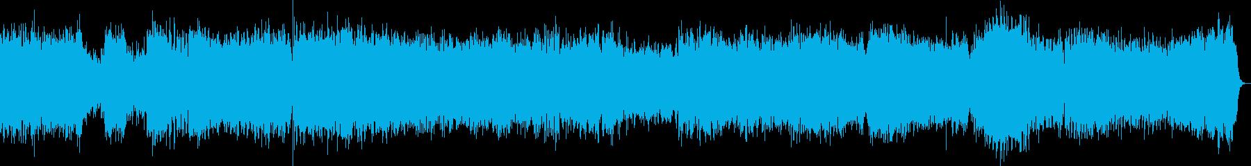 ブランデンブルク協奏曲2番1楽章/バッハの再生済みの波形