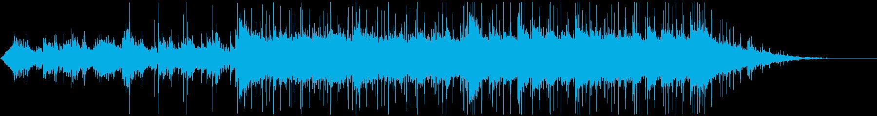 ピアノがキラキラ綺麗なBGM12の再生済みの波形