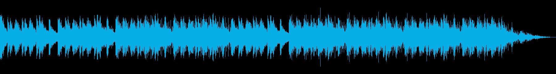 溜息が出るほど退屈な曲の再生済みの波形
