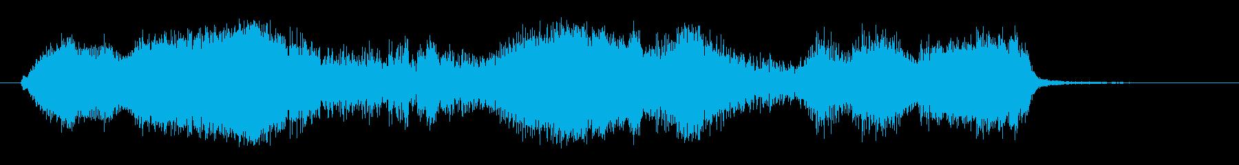 ここにピアスの再生済みの波形