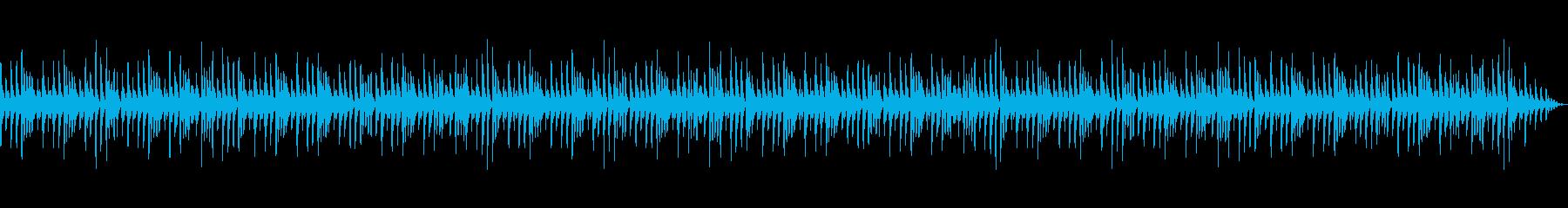 雑談シーンの動画BGMの再生済みの波形