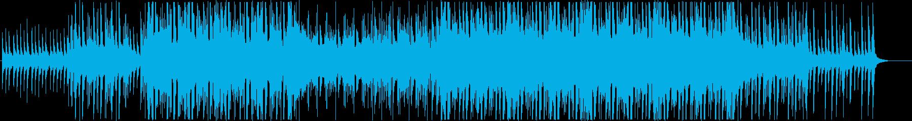 アジアン風で暖かいトロピカルハウス(短めの再生済みの波形
