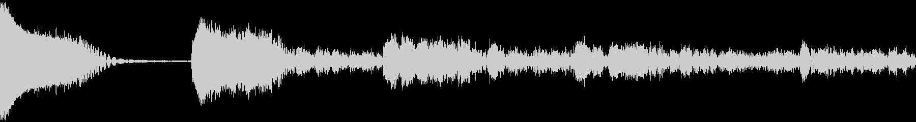 アナログFX 14の未再生の波形