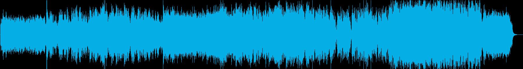 【二胡・古筝】哀愁をイメージした楽曲の再生済みの波形