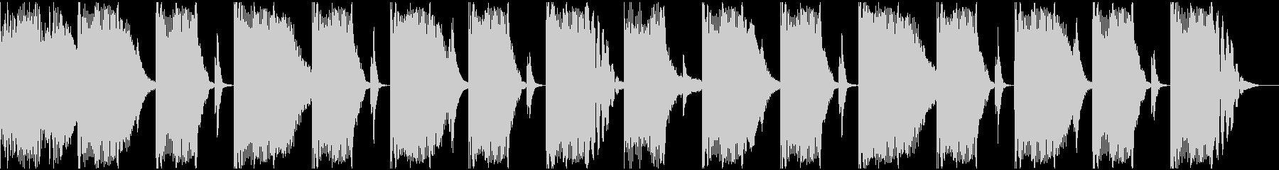 【エレクトロニカ】ロング2、ショート7の未再生の波形