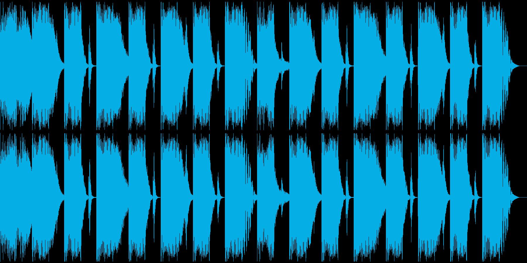 【エレクトロニカ】ロング2、ショート7の再生済みの波形