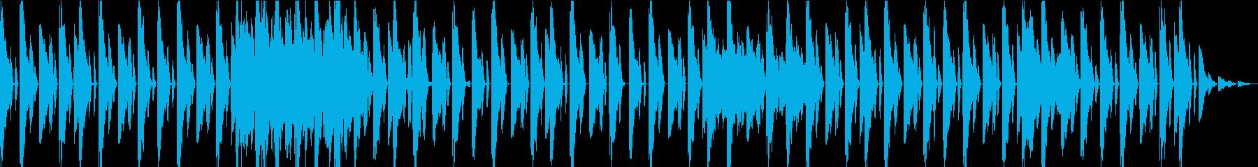 ダークパルスグルーヴには、一種のフ...の再生済みの波形