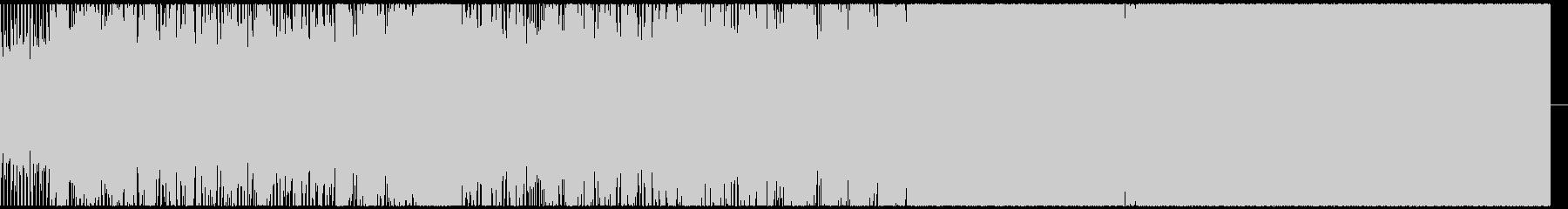 ヨVEの未再生の波形
