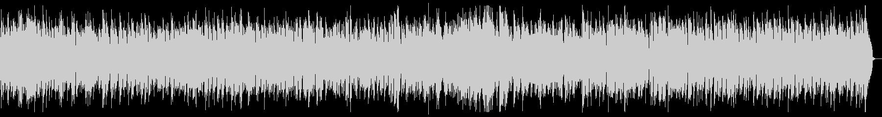 エレクトリックピアノのゆったりボサノバの未再生の波形
