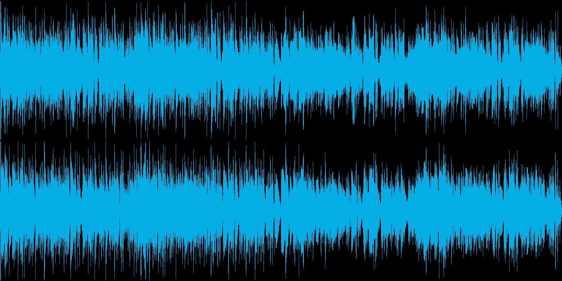 和風でセクシー・おしゃれで大人なBGMの再生済みの波形