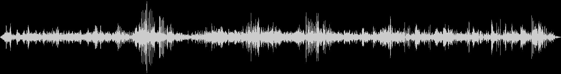 中規模の群衆:声、笑い声、一般的な...の未再生の波形
