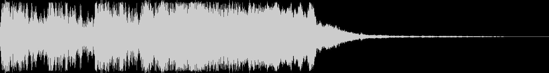 RPG向けオーケストラファンファーレの未再生の波形