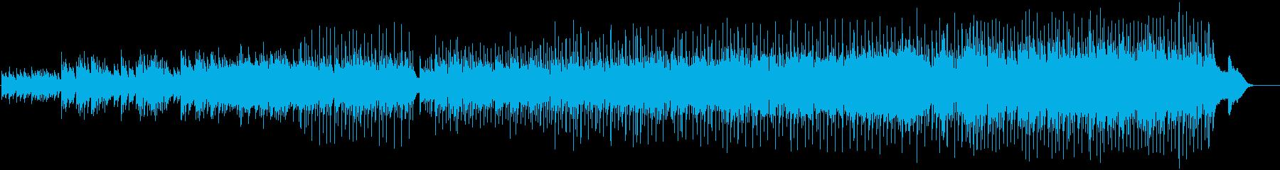 [秋] 忘れじの渚(歌謡ポップ風)の再生済みの波形