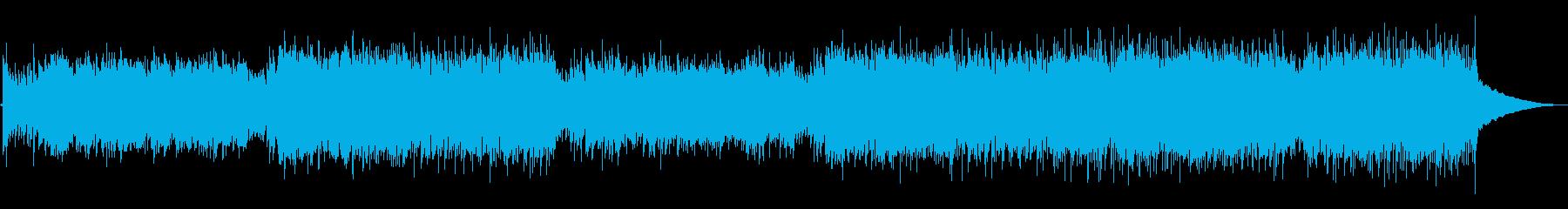 ゲーム・情熱的でかっこいいフラメンコの再生済みの波形
