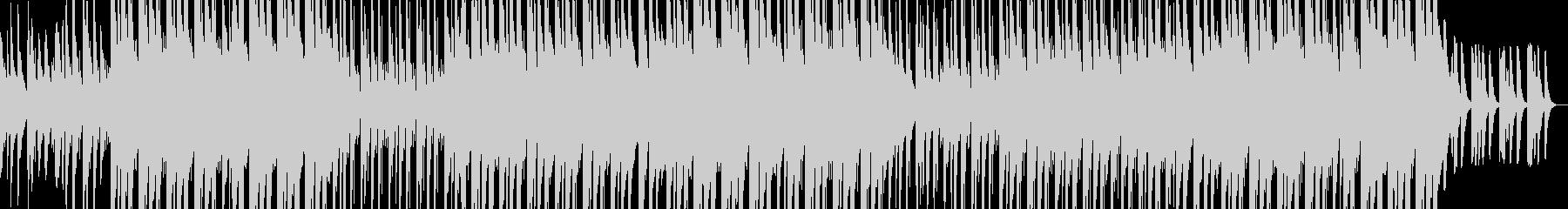 ポップなピアノのヒップホップの未再生の波形