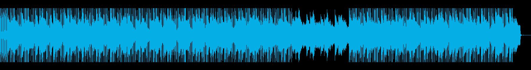 ギターを使ったChill曲の再生済みの波形