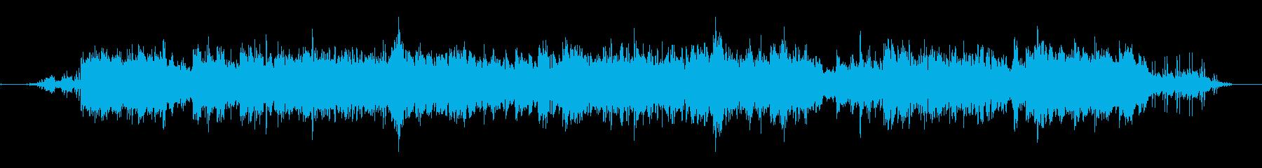 電車の音は、この瞑想的なソロギター...の再生済みの波形