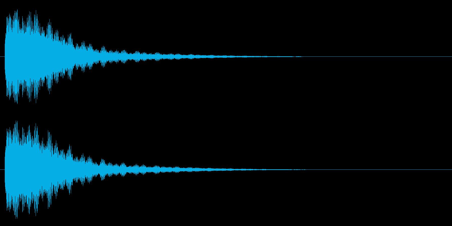 バッシュー(機械系)の再生済みの波形