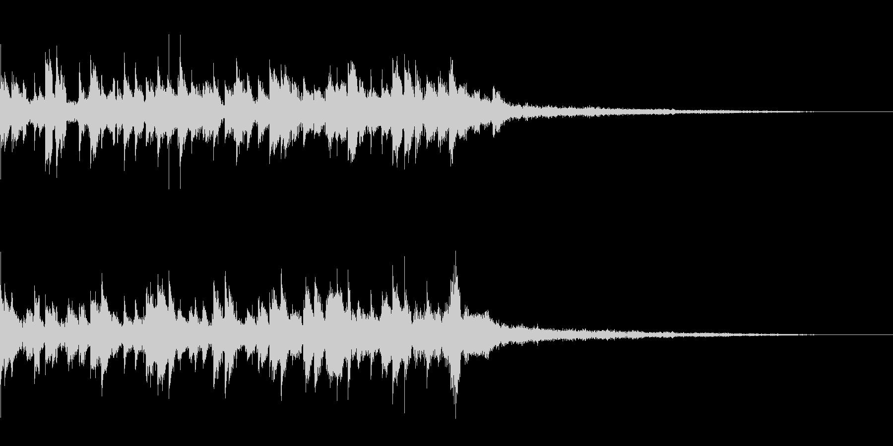 アイキャッチ 34の未再生の波形