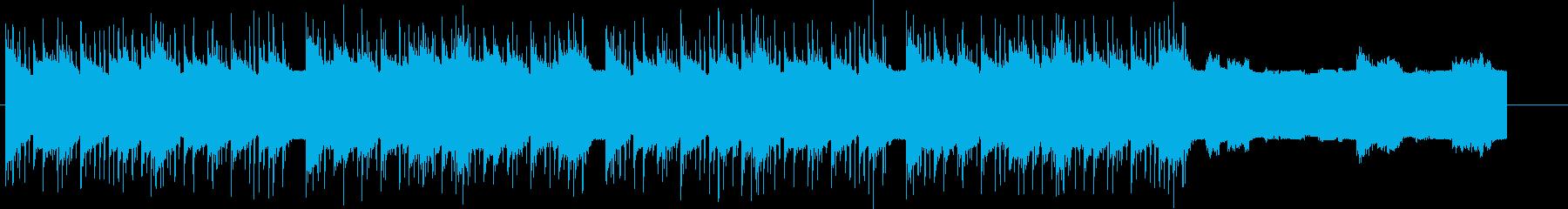 ダークサイド感のあるエレクトロの再生済みの波形