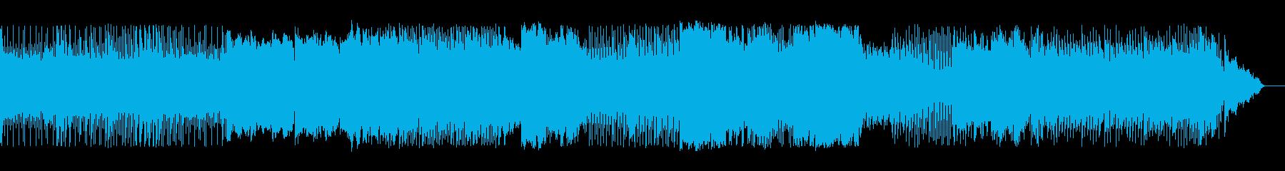 動画 説明的 静か 繰り返しの ク...の再生済みの波形