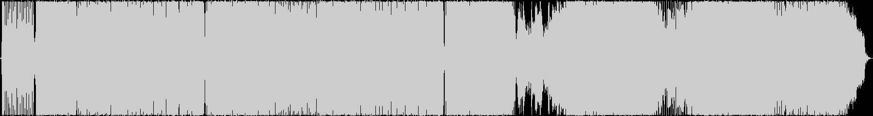 アニソン系女性Vo曲Clear Wingの未再生の波形