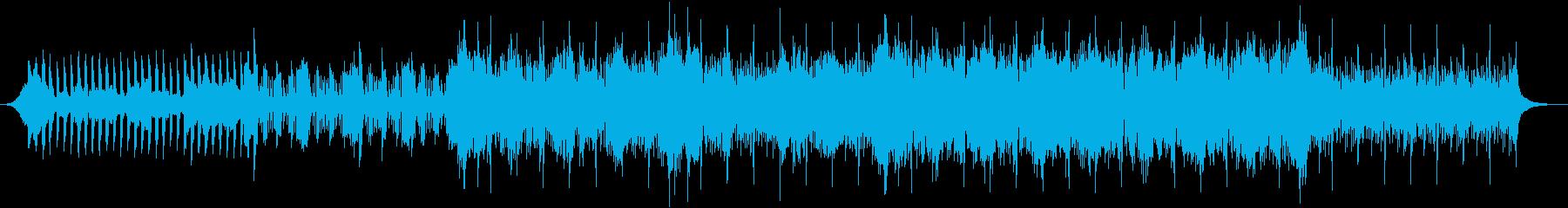 民族楽器を取り入れた楽曲の再生済みの波形