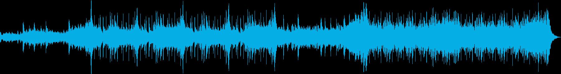 幻想的なchill hiphopの再生済みの波形