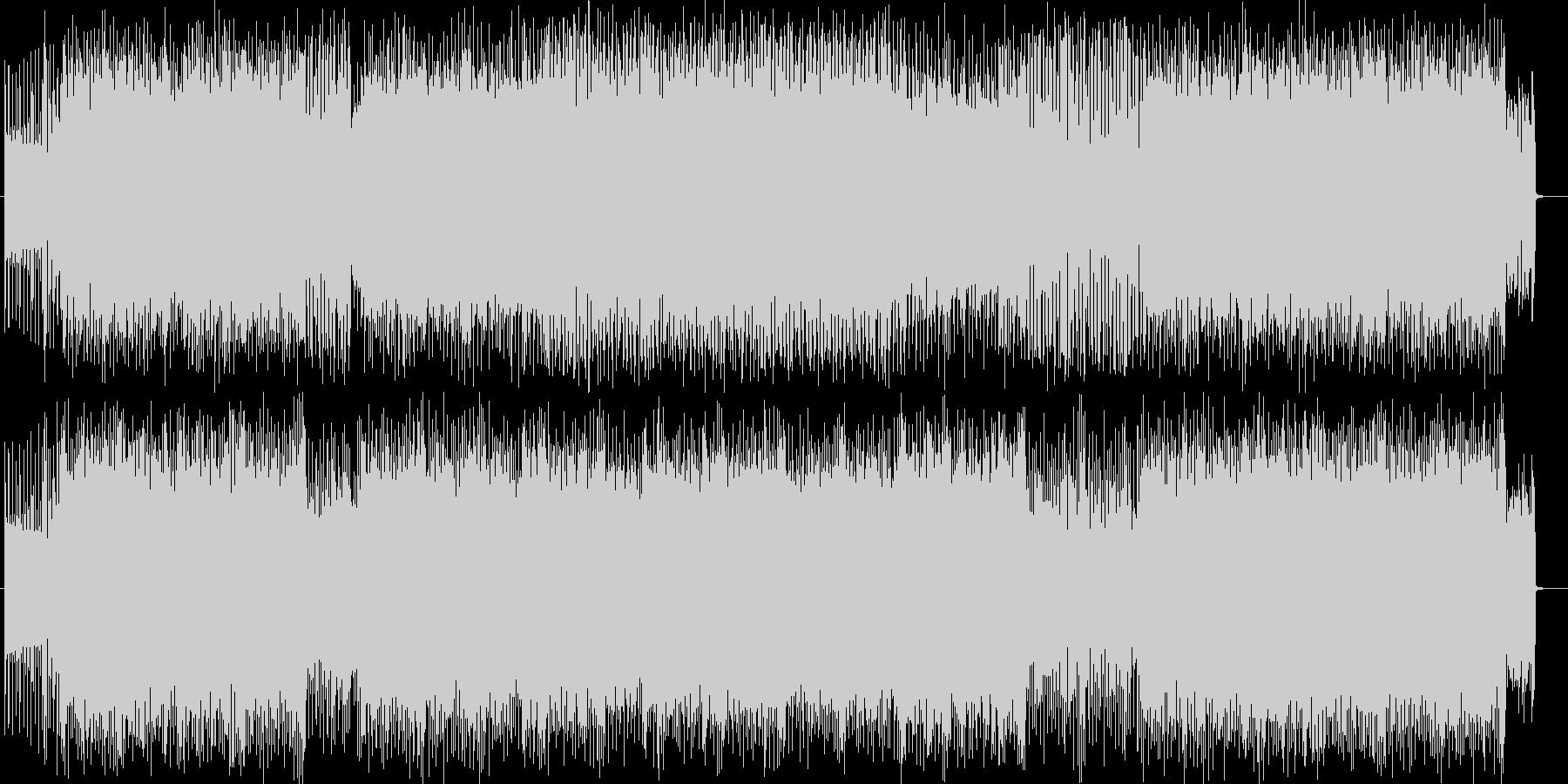スピーディーでクールなエレキハードロックの未再生の波形