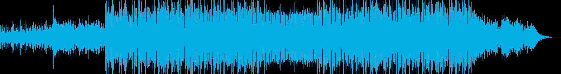 現代的で都会的なシンセミュージック-16の再生済みの波形