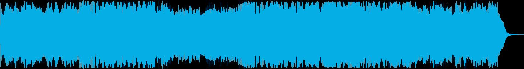 女性ボーカル・おしゃれフューチャーベースの再生済みの波形