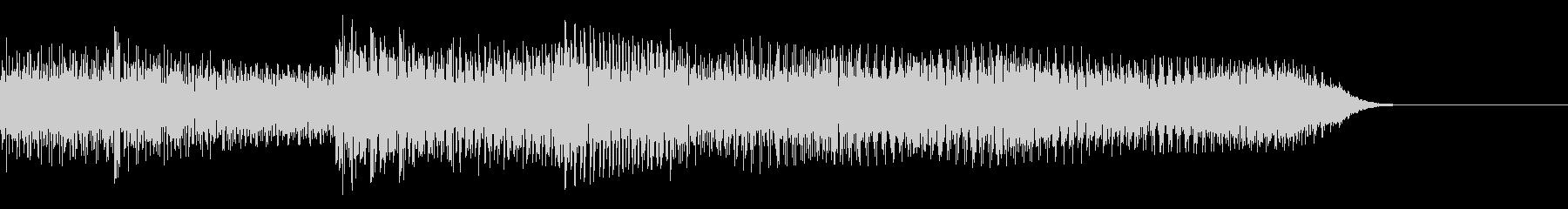 テッテレ(入手) 8bit 速めの未再生の波形