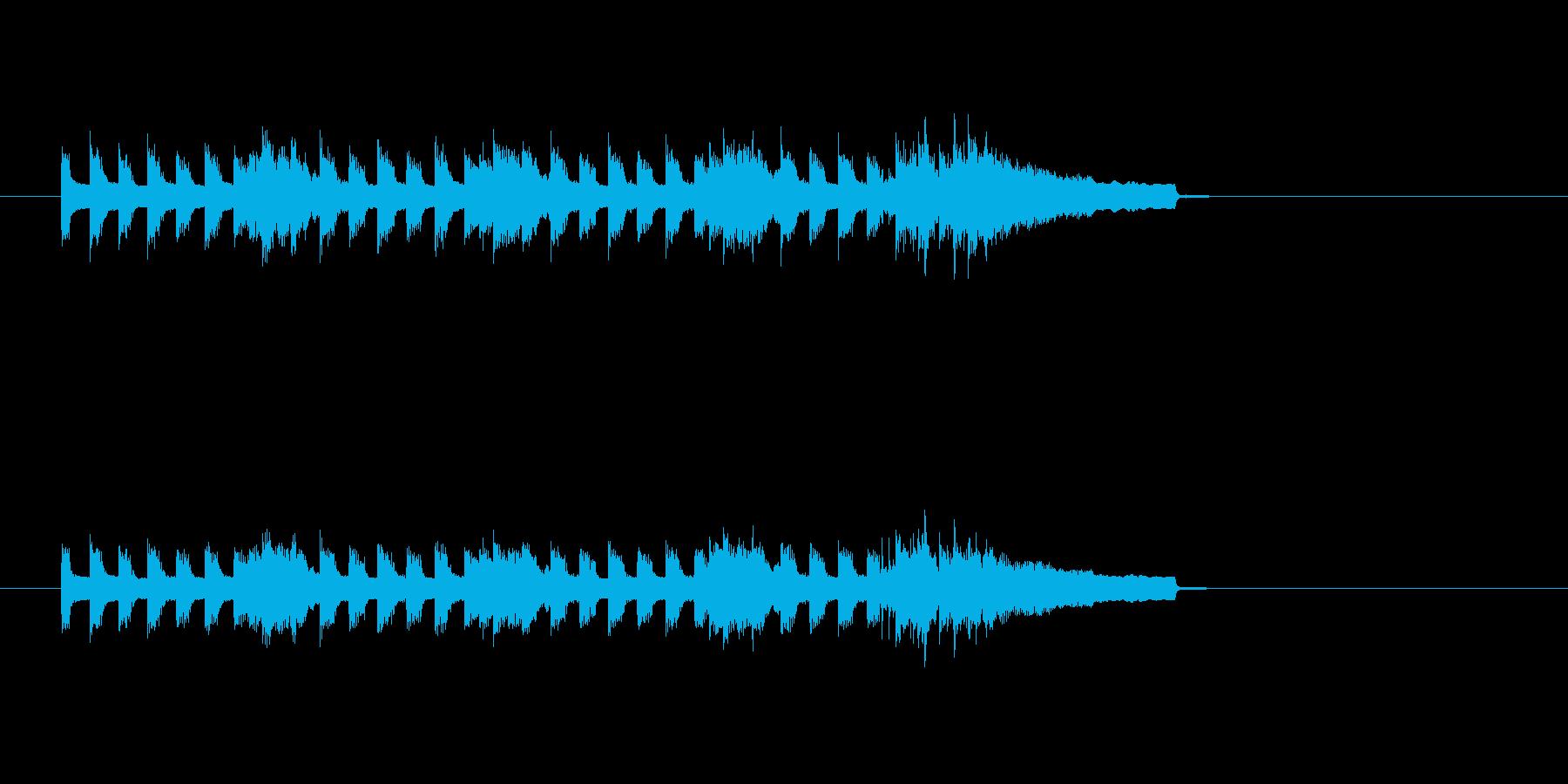 シンセサイザー ほのぼの 怪しい 奇妙の再生済みの波形