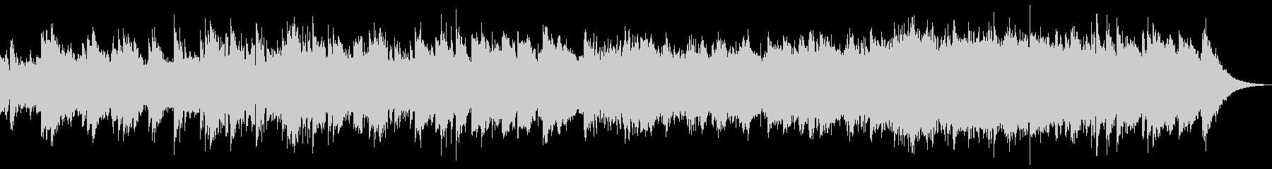 映像BGM(アコギ、ストリングス)の未再生の波形