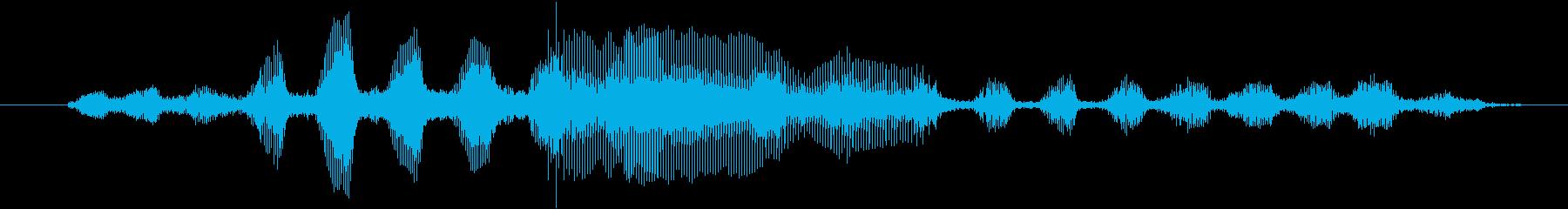 ヤギ Baaingヤギ07の再生済みの波形