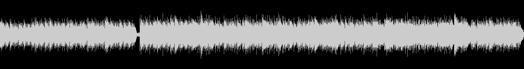 ニュースや日常に/ピアノメインのBGMの未再生の波形