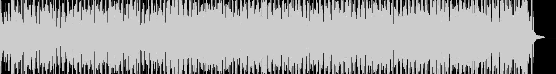 エスニックポルカアコーディオンのダンス曲の未再生の波形