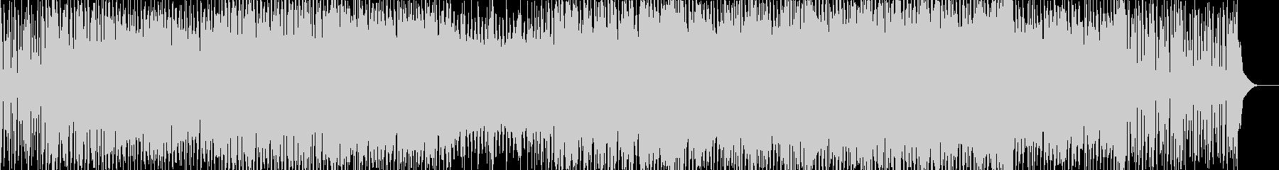 三味線 + ダンスミュージックの未再生の波形