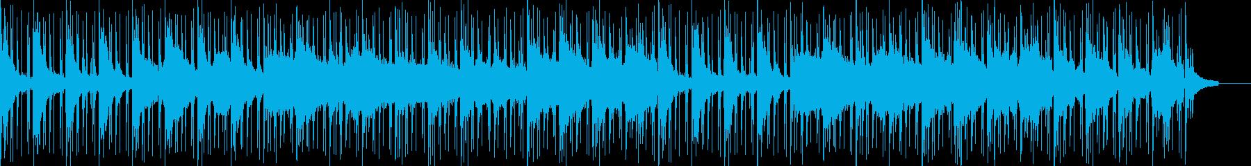 静かで美しいピアノと弦(ストリングス)の再生済みの波形
