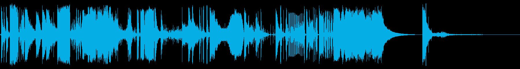 バウンティファーウィズの再生済みの波形