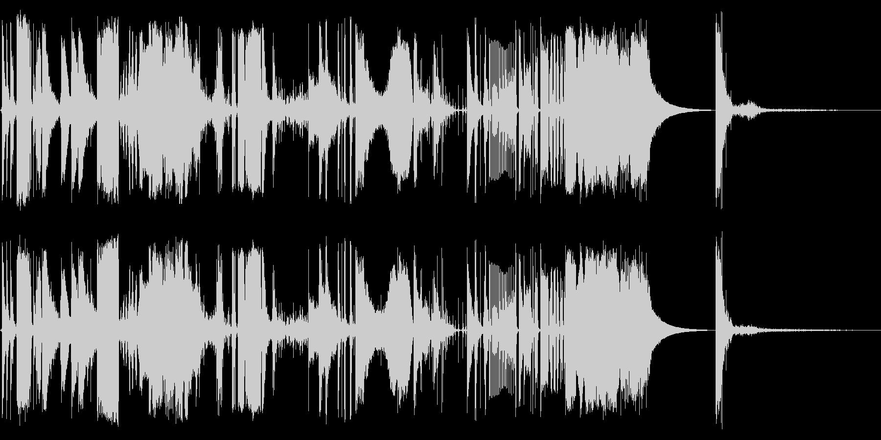 バウンティファーウィズの未再生の波形