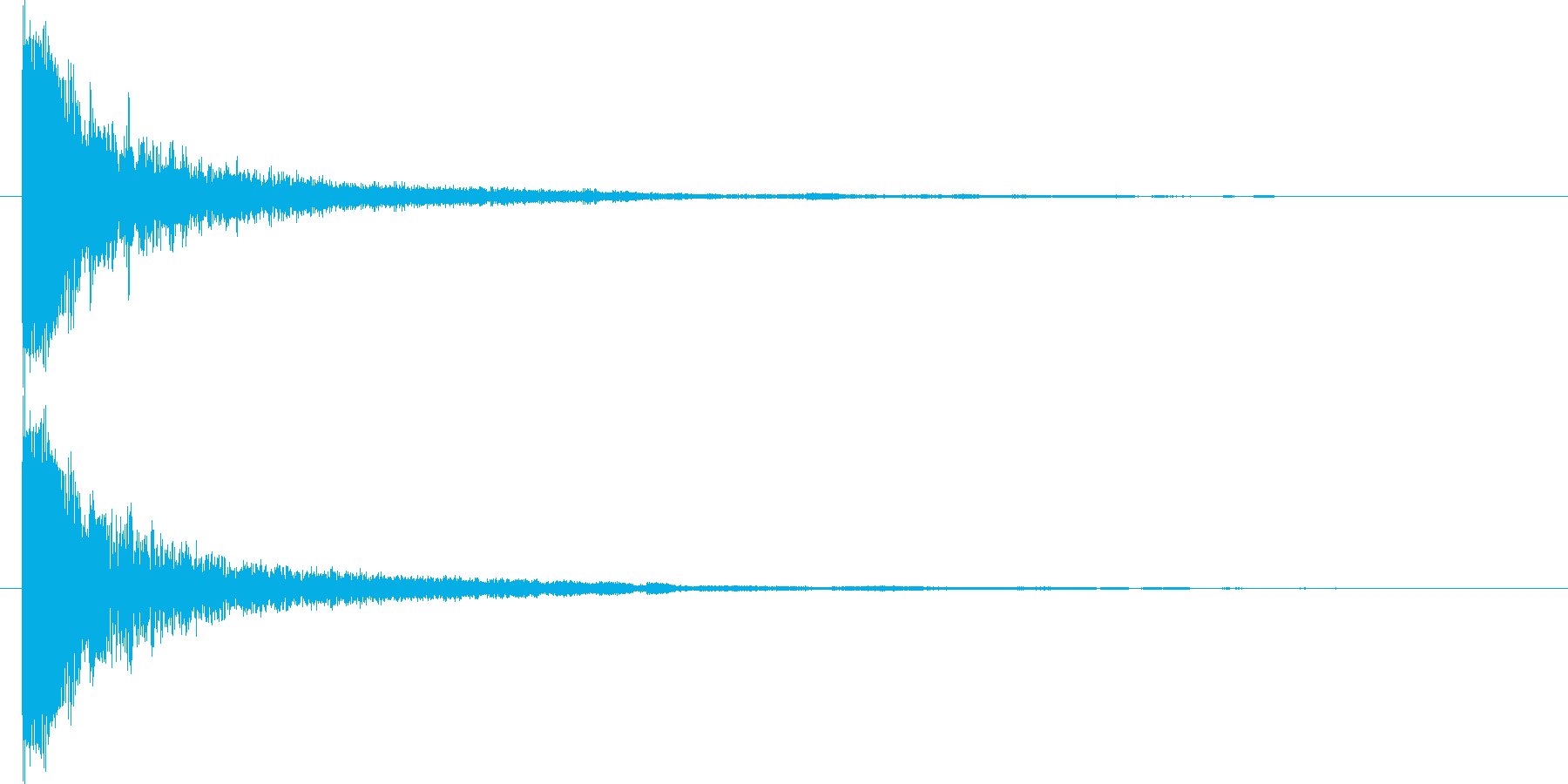 ビーム カードバトル スマホゲームの再生済みの波形