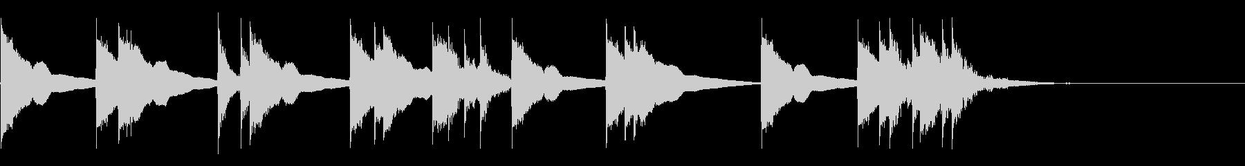 和楽器/三味線/和風フレーズ/#2の未再生の波形