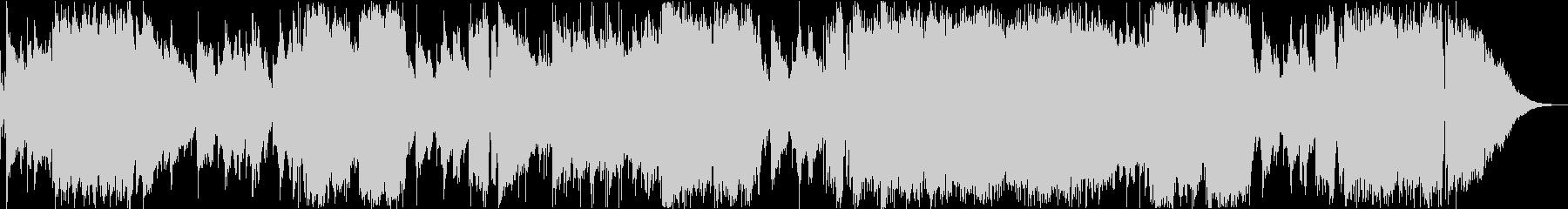 架空のアニメ「マスター・アルコ」EDの未再生の波形