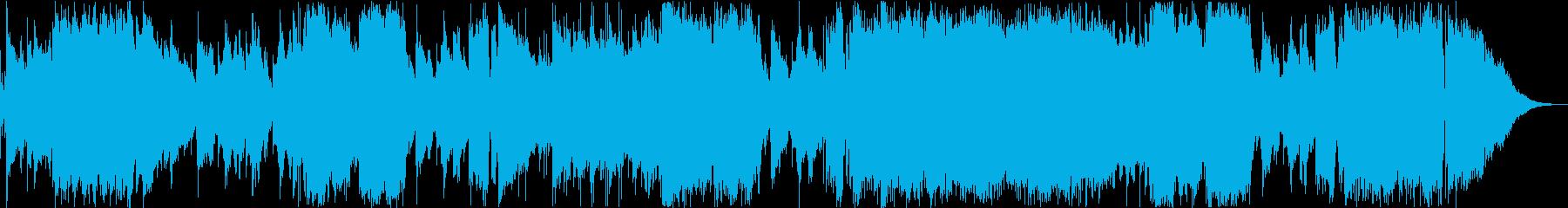 架空のアニメ「マスター・アルコ」EDの再生済みの波形