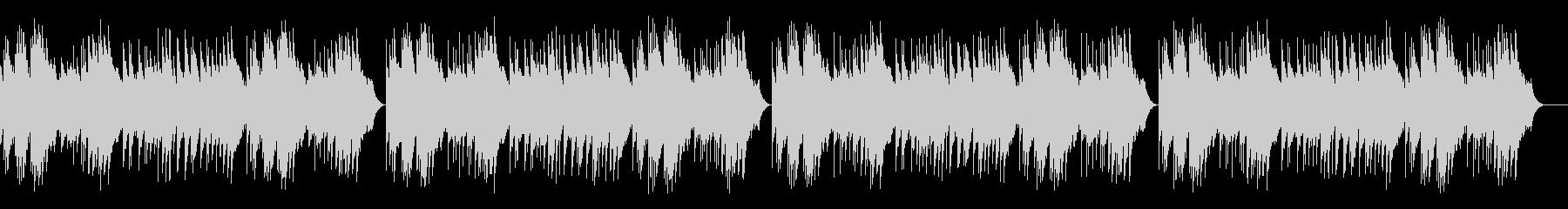 「カラスなぜなくの」オルゴールの未再生の波形