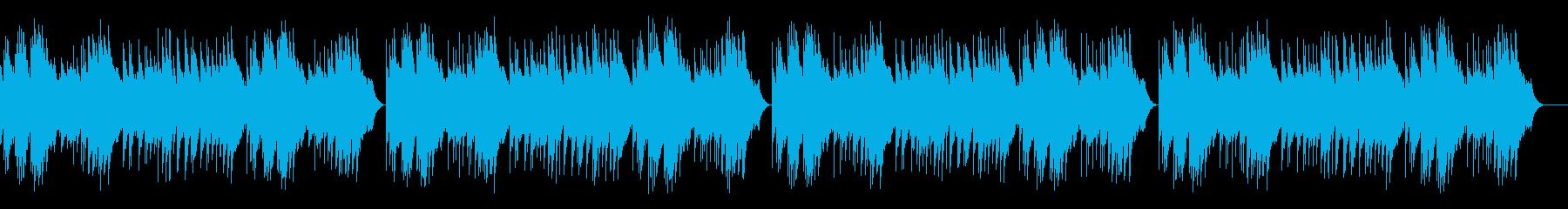 「カラスなぜなくの」オルゴールの再生済みの波形